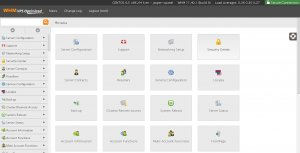 Easily manage all of your cPanel accounts from WHM (Web Host Manager)